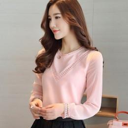 Modna bluzka damska szyfonowa koszula harajuku elegancka wizytowa wieczorowa