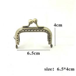 BDTHOOO DIY metalowa rama torebka uchwyt monety torby metalowe pocałunek zapięcie blokada rama akcesoria do torby 6.5/7.5/ 8.5/1