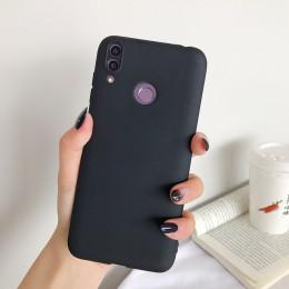 Cukierki matowe etui na telefon dla Honor 8S 8A 9X Pro 8C 8X9 10 Lite 20 6X 6C 7A 7C 7S 7X kolorowe miękkie TPU silikonowa osłon