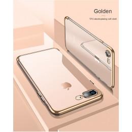 Poszycia przezroczysty futerał silikonowy dla iPhone XS Max XR X etui na iPhone 6 6 S 7 8 Plus XR torba na telefon komórkowy prz