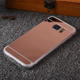 Efekt lustra miękka TPU etui do Samsung Galaxy Note 9 S6 S7 krawędzi Grand Prime A3 A5 A7 J3 J5 j7 2017 S8 S9 A8 Plus J4 J6 A7 2