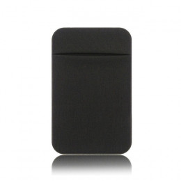 Elastyczna Stretch Lycra Adhesive telefon komórkowy ID posiadacz karty kredytowej kobiety mężczyźni naklejki kieszonkowy portfel