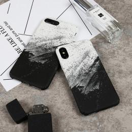Coque dla iPhone X abstrakcyjne Graffiti etui na telefon na dla iPhone X 10 iPhone 6 6S 8 7 Plus moda twardy skrzynki pokrywa Fu