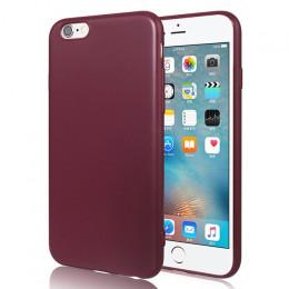 Luksusowe proste krzemu skrzynka dla iPhone 6 s 6S 7 7S iPhone 8 Plus X 10 5 5S 5SE iPhone 6Plus 6SPlus 7Plus 8 Plus telefon kom
