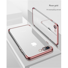 ONEPLANT miękki futerał silikonowy dla iPhone X 10 XS Max XR iPhone 6 S 6 s 6 Plus 6 plus iPhone 7 8 7 Plus 8 Plus telefon pokry