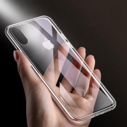Ultra cienki silikonowy miękki tpu przezroczysty futerał na telefon dla iPhone 6 S 6 s 7 8 Plus 6 Plus 7 plus 8 Plus X XS Max XR