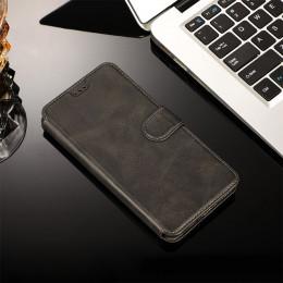 Luksusowe j6plus j4plus etui do Samsung Galaxy J8 J6 J4 Plus 2018 J3 J5 J7 2017 etui flip wallet pokrywa karty ze skóry slim cie