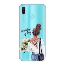 Etui na telefon silikonowy dla Huawei Nova 2i 2 Lite Plus 3 3I 3E dla dzieci kobiet mama miękka tylna pokrywa dla huawei Nova in