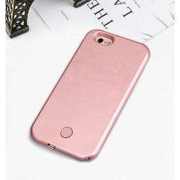 Dla iPhone 7 8 Plus Light Up lampa błyskowa do selfie etui na telefon zdjęcie wypełnić światło artefakt dla iPhone 7 plus X 6 6S