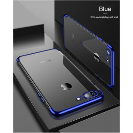 Miękki futerał silikonowy do iPhone X XS MAX XR iPhone 5 5S 6S 6 6Plus 6S Plus iPhone 7 8 7Plus 8Plus poszycia telefonu pokrywy