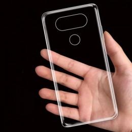 Nephy Ultra cienki przezroczysty miękki etui na LG G3 G4 G5 G6 G4 Stylus K10 V10 V20 G 3 4 5 6 V 20 K 10 TPU tylna obudowa silik