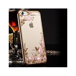 Etui na telefon komórkowy dla iPhone 6 6 S iPhone X 10 XR XS Max iPhone 7 8 Plus iPhone 5S 5 s SE 4 4S silikonowe jasne różowe z
