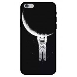 Astronauta przypadku dla Coque iPhone 8 przypadku przestrzeń księżyc planeta gwiazda miękkie etui z termoplastycznego poliuretan