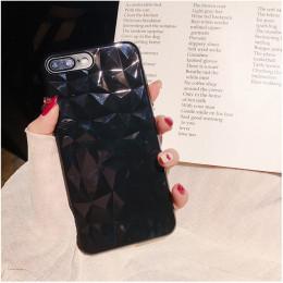 Etui na telefon 3D diament miękkie pokrywa dla iPhone 6 6 S 7 8 Plus X XS Max XR 5 5SE 8 Plus silikonowe Coque odporny na wstrzą