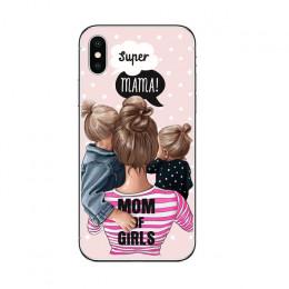 Vogue mody uroczy malarstwo kobiety miękkiego silikonu telefon skrzynki pokrywa dla IPhone 5 5S SE 6 6 s 7 8 PLUS X XR XS MAX se