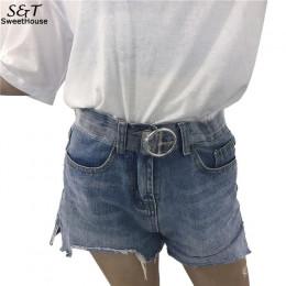 Kobiety pas biodrowy żywicy przezroczyste długie sukienka z paskiem pas taśmowy serce Pin klamra Cinturon Mujer Cinturones Para