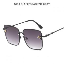2019 Oversize kwadratowe okulary mężczyźni kobiety Celebrity męskie okulary jazdy Superstar luksusowy gatunku projektanta kobiet
