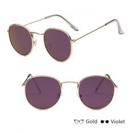 LeonLion 2018 luksusowe lustro okulary kobiety/mężczyźni marka dizajnerskie okulary pani okrągłe okulary przeciwsłoneczne ulica