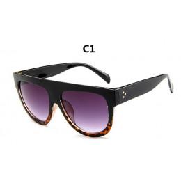 DJXFZLO 2018 Gafas moda kobiety okulary marka projektant luksusowe Vintage okulary przeciwsłoneczne duży pełna ramka okulary dam