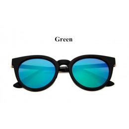 Cat eye różowe okulary kobieta odcienie lustro kobiece kwadratowe okulary przeciwsłoneczne dla kobiet powłoka oculos moda marka