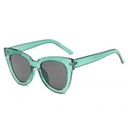 Mody okulary Cat eye kobiety luksusowa marka projektant Vintage okulary przeciwsłoneczne kobiece okulary dla kobiet Gafas de sol