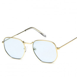 LeonLion 2019 łamana okulary okulary damskie Lady luksusowe Retro metalowe okulary zabytkowe lustro Oculos De Sol Feminino UV400
