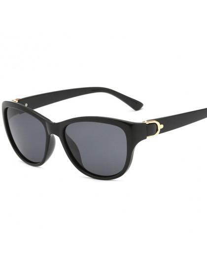 Luksusowa Marka Projekt Cat Eye Okulary Przeciwsłoneczne
