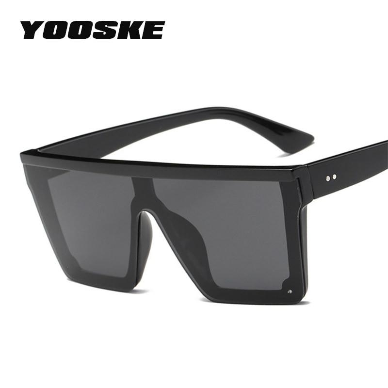 YOOSKE w stylu Vintage ponadgabarytowych okulary