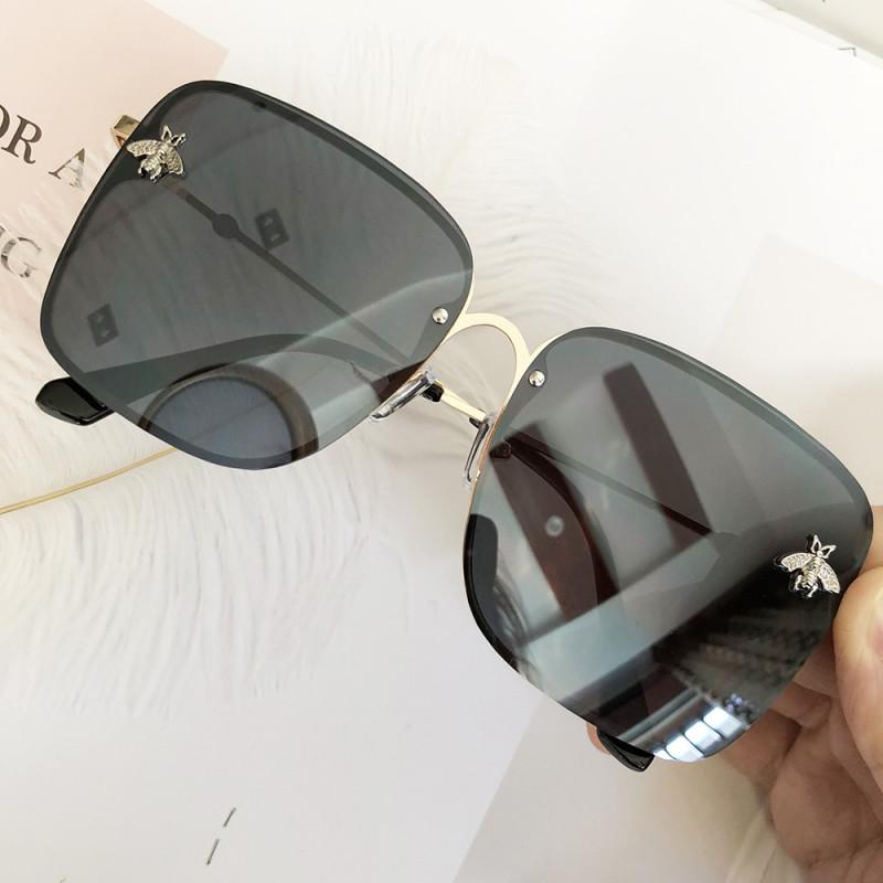 TOYEARN luksusowa marka projekt pani Oversize Rimless
