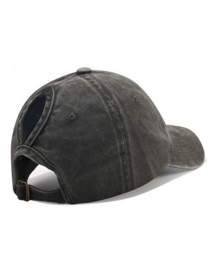 2019 kucyk czapka z daszkiem Messy Bun kapelusze dla kobiet myte bawełna Snapback czapki dorywczo letnie słońce daszek kobiet na