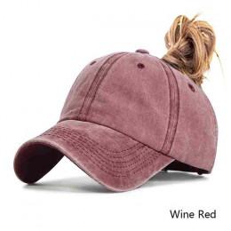 Evrfelan projektowanie mody kucyk czapka z daszkiem dla kobiet Snapback tata kapelusz kobieta umyć kapelusz lato Sport słońce ka
