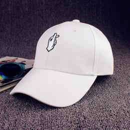 VORON miłość gesty Finger haftować Golf czapka z daszkiem mężczyzn kobiety Snapback kapelusze Flipper małe serce miłość słońce c