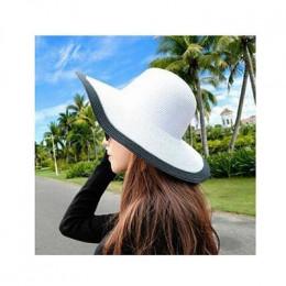 2015 moda nad morzem czapka z daszkiem damskie letnie kapelusze przeciwsłoneczne dla kobiet duże rondem słomy kapelusz słońce sk