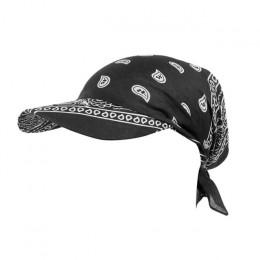 Gorąca sprzedaż 2019 kobiety indie muzułmańskie Retro kwiatowy bawełniany ręcznik Cap rondo Turban z daszkiem czapka z daszkiem