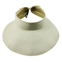 Kapelusze przeciwsłoneczne dla kobiet lato składany szerokie duże rondo słońce kapelusz słomkowy gorąca sprzedaż okrągłe Top osł