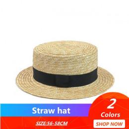 Moda rodzic-dziecko słońce kapelusz słodkie dzieci kapelusze przeciwsłoneczne łuk ręcznie wykonane kobiety słomiany kapelusz pla
