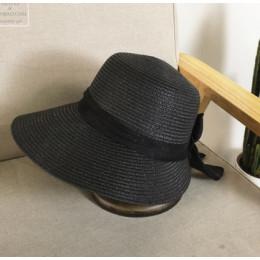 2018 kobiet kapelusz słońce duży łuk szeroki kapelusz z opadającym rondem kapelusze letnie dla kobiet plaża Panama słomkowy wiad
