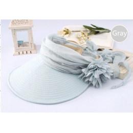 Nowy kapelusze przeciwsłoneczne dla kobiet moda pani lato czapka z daszkiem kobiet czapka plażowa zapobiegania promieniowania ul
