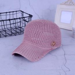 Panie letnie siatki Snapback czapki z daszkiem oddychające litera M jeździectwo Cap dla kobiet dziewczyn słońce kapelusz kości C