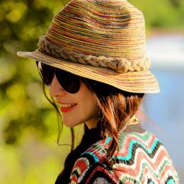 Kobiety lato słomkowy Sunhat europejska moda blokada przeciwsłoneczna nad morzem elegancki kapelusz jesień lato plaża kapelusz S