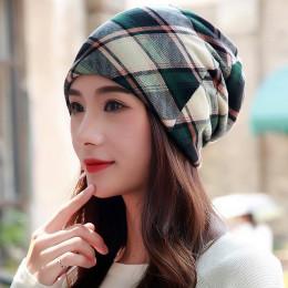 LongKeeper nowa kobiety kapelusz poliester dla dorosłych Casual kwiatowy damskie kapelusze wiosna jesień kobiece czapka szalik 3