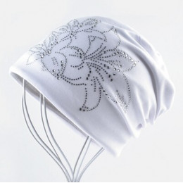 Kobieta czapka Bonnet jesień i zima czapki czapka w stylu Hip-hop kwiat Rhinestone kapelusze dla kobiet czapki kominiarka kobiet