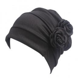 Kobiety duży kwiat Model chustka na głowę chemioterapii czapka w stylu zachodnim wzburzyć raka kapelusz po chemioterapii czapka