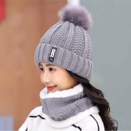 Wysokiej jakości czapka narciarska 2018 nowy marka wełny futrzana podszewka nasadka kulkowa pompon czapka zimowa dla kobiet dzie