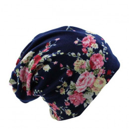 Miaoxi niespodzianka cena nowa moda 2 używane kobiet kapelusz z kwiatem szalik dzianiny jesień czapki 4 kolory Casual czapki Sku