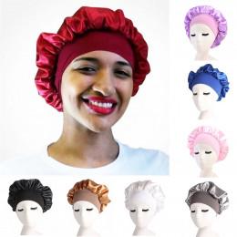 Drop Shipping najlepiej sprzedający się długi do pielęgnacji włosów kobiety moda satyna czapka z daszkiem czapka z daszkiem noc