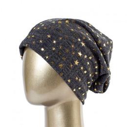 Geebro kobiet brązujący gwiazda czapka beanie wiosna bawełna luźna czapka beanie dla kobiet damskie wygodne Skullies kapelusze c
