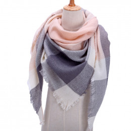 Projektant 2019 z dzianiny wiosna zima kobiety szalik chusta ciepłe kaszmirowe chustki szale luksusowa marka chustka na szyję pa