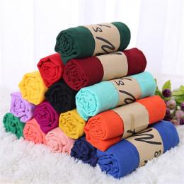 TagerWilen pościel szale stałe peleryna szal Ultra luksusowa marka muzułmańskie hidżab szalik szalik cukierki kolor kobiet szali