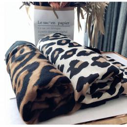 Luksusowa marka zima szalik, lampart szalik kobiety, miękkie chusty, szale i chusty, Sjaal muslim hidżab, zwierząt drukuj leopar